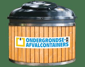 Semi-ondergrondse container